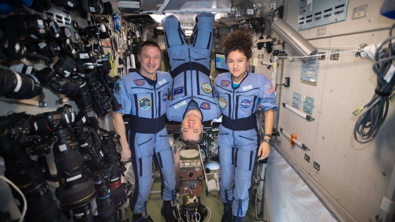Expedition 62 Crew Returns to Earth From Space Station