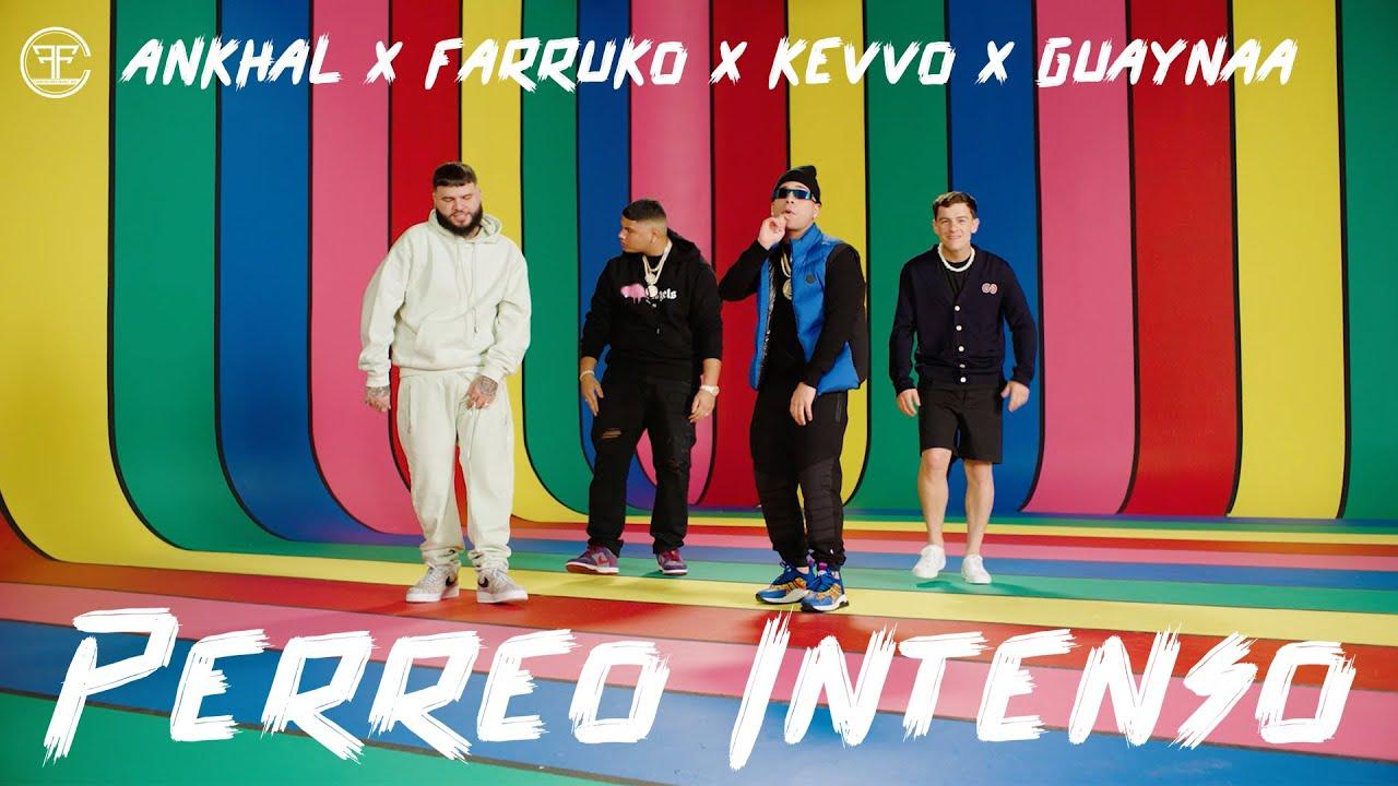 Farruko, Ankhal, Guaynaa & Kevvo – Perreo Intenso (Official Music Video)