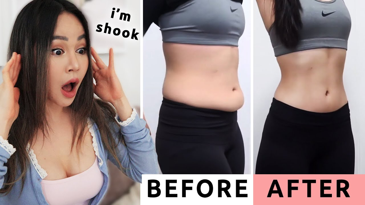 Get SNATCHED during Quarantine | Before After Chloe Ting Challenge Results ?
