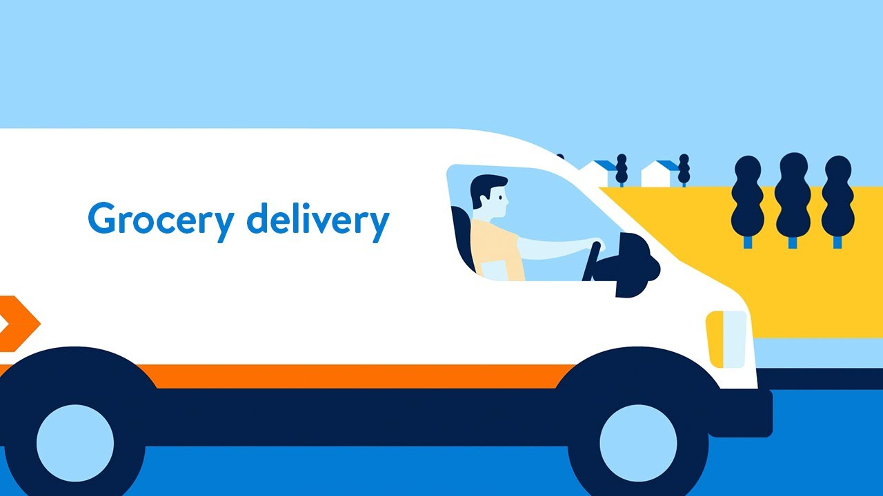 Grocery delivery is a breeze!