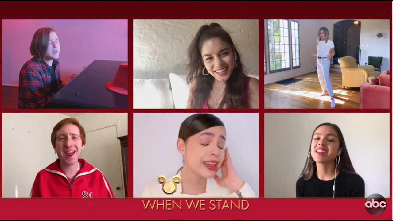 High School Musical Cast Performs 'We're All In This Together' – The Disney Family Singalong