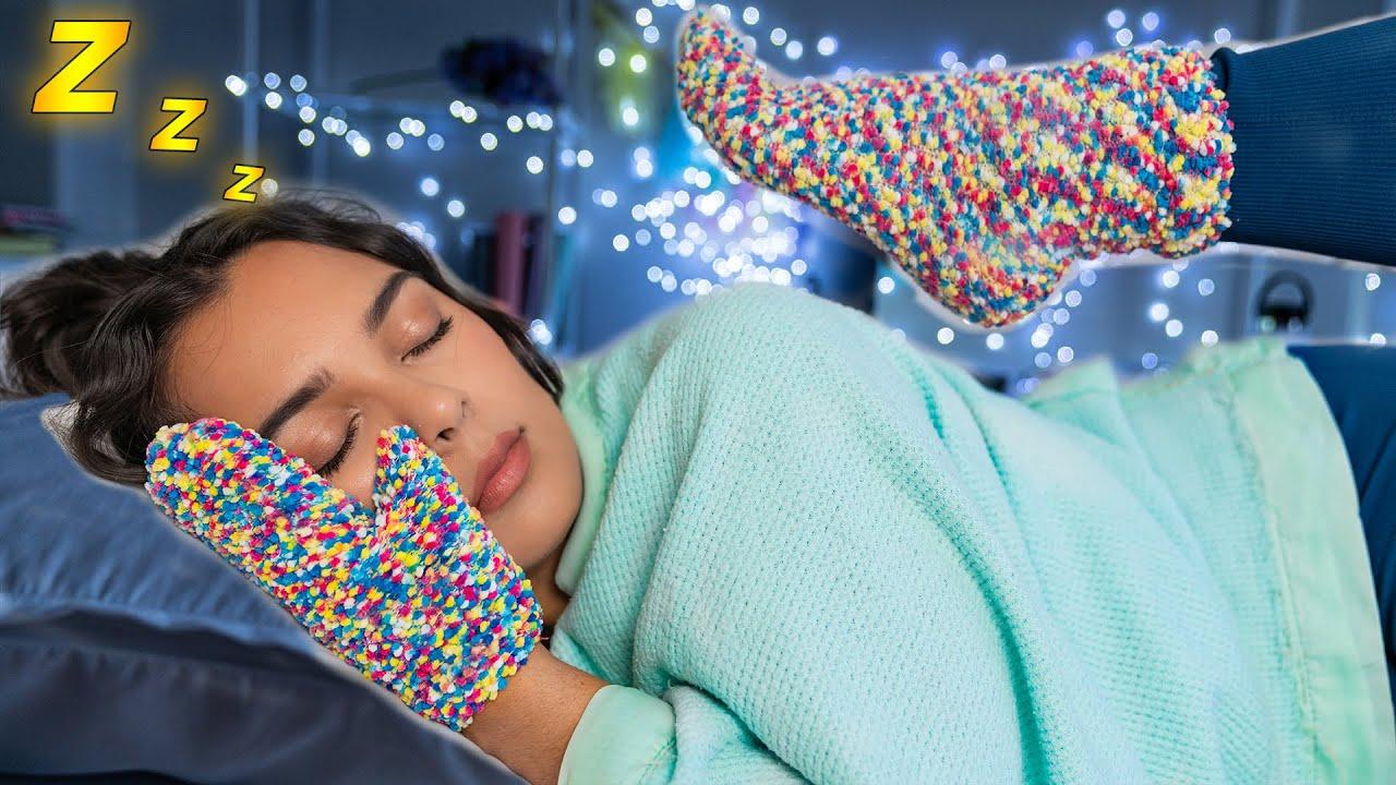 How to Fall Asleep FAST When You CAN'T Sleep! 12 Sleep Life Hacks!