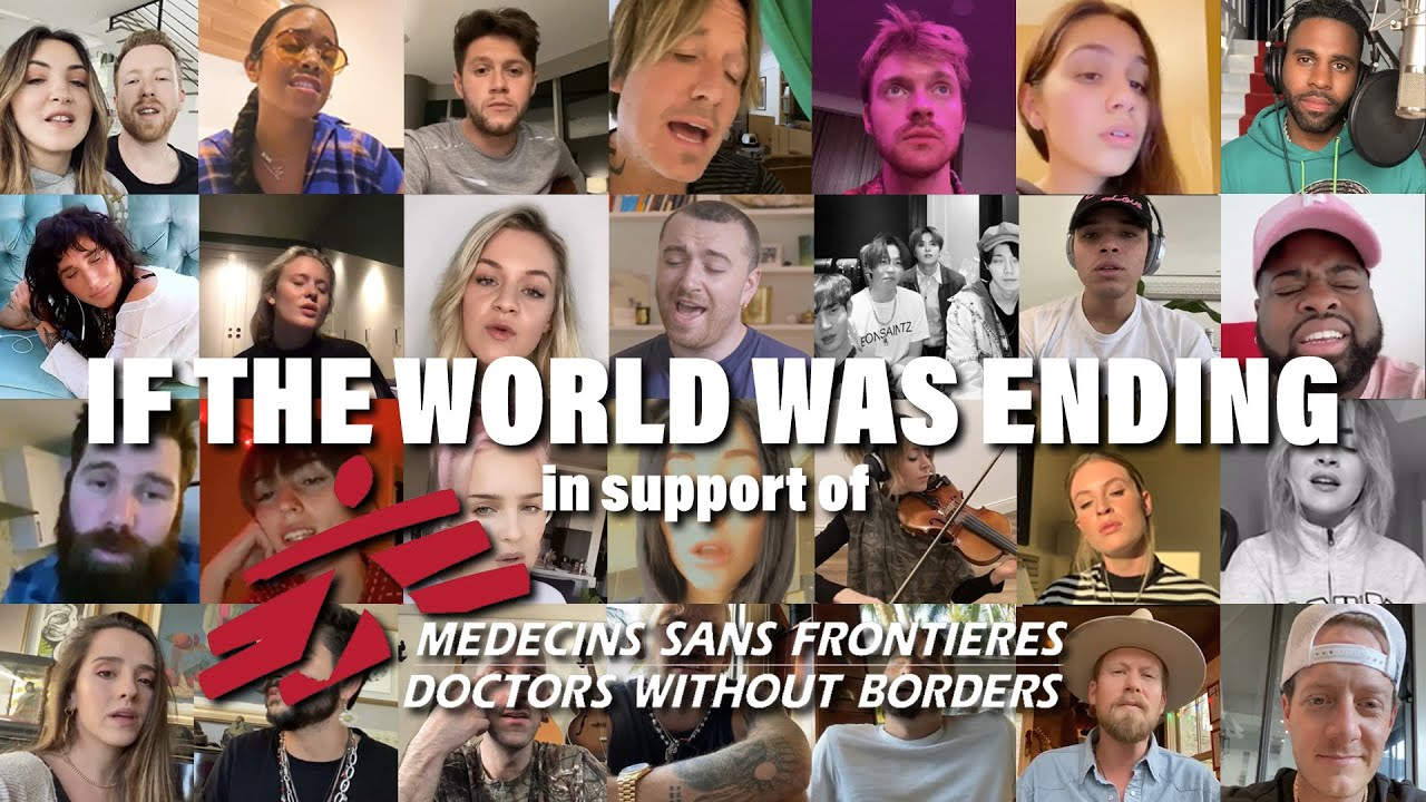 JP Saxe, Julia Michaels & Friends – If The World Was Ending (In Support of Doctors Without Borders)