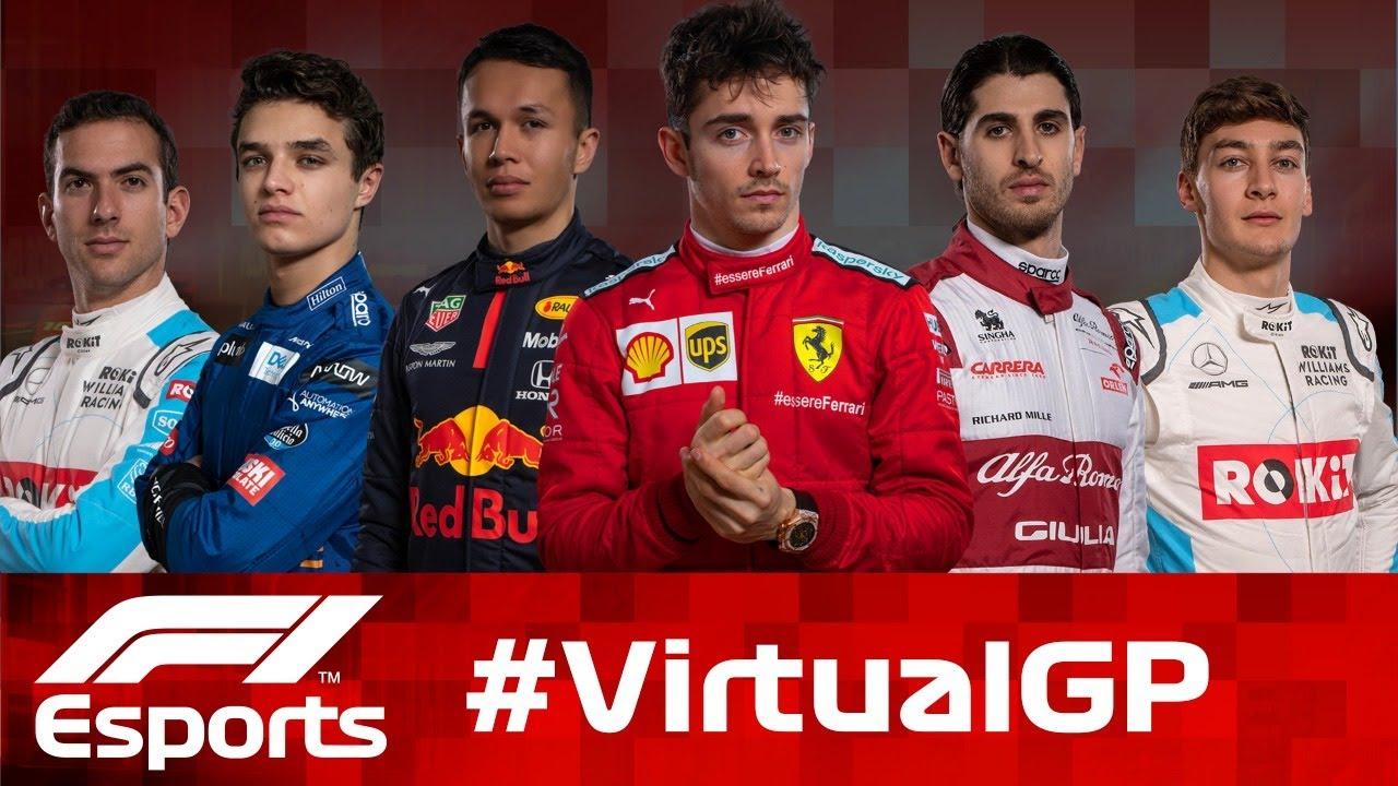 LIVE: F1 Virtual Grand Prix!