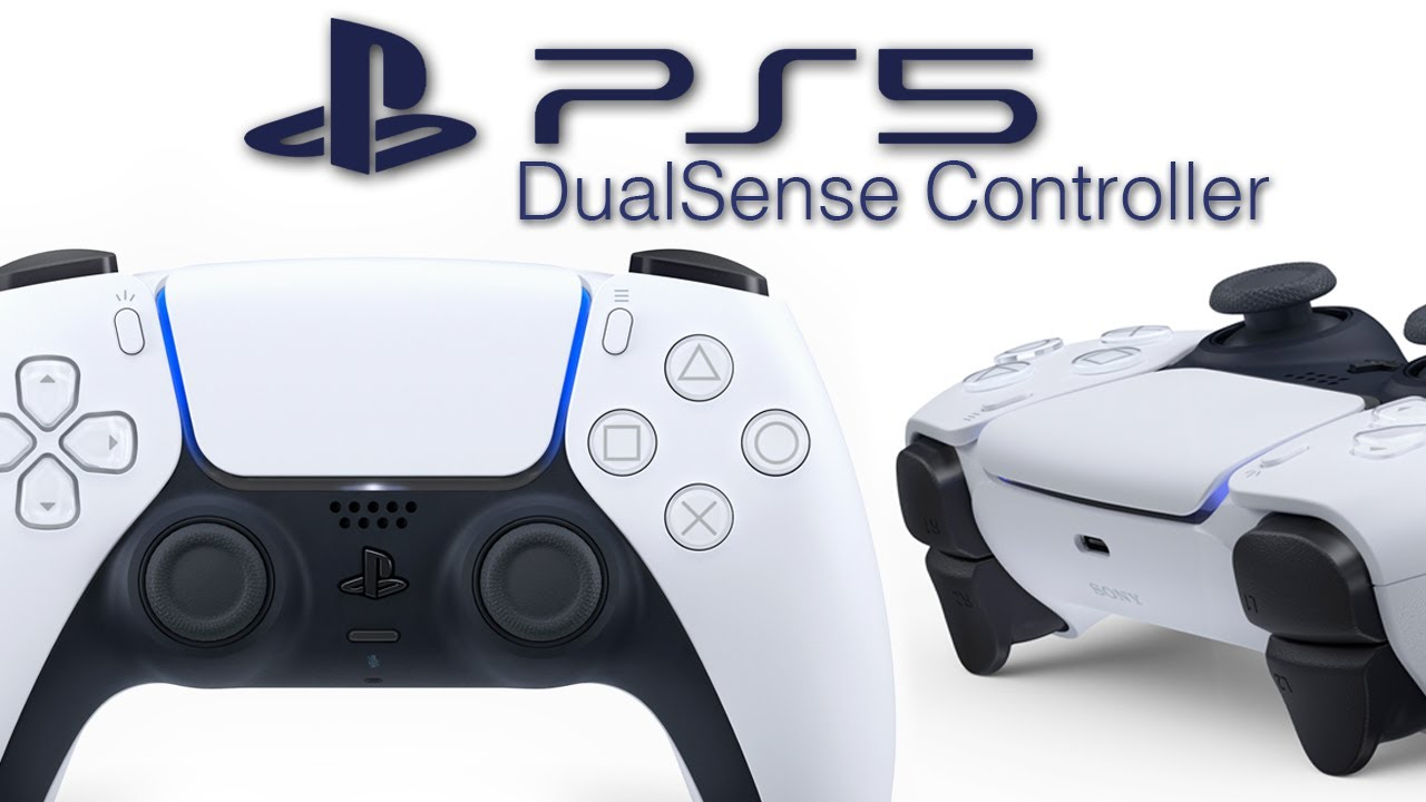 Official PS5 Controller Revealed: DualSense – New Design, Mic, Light Bar, Create Button.