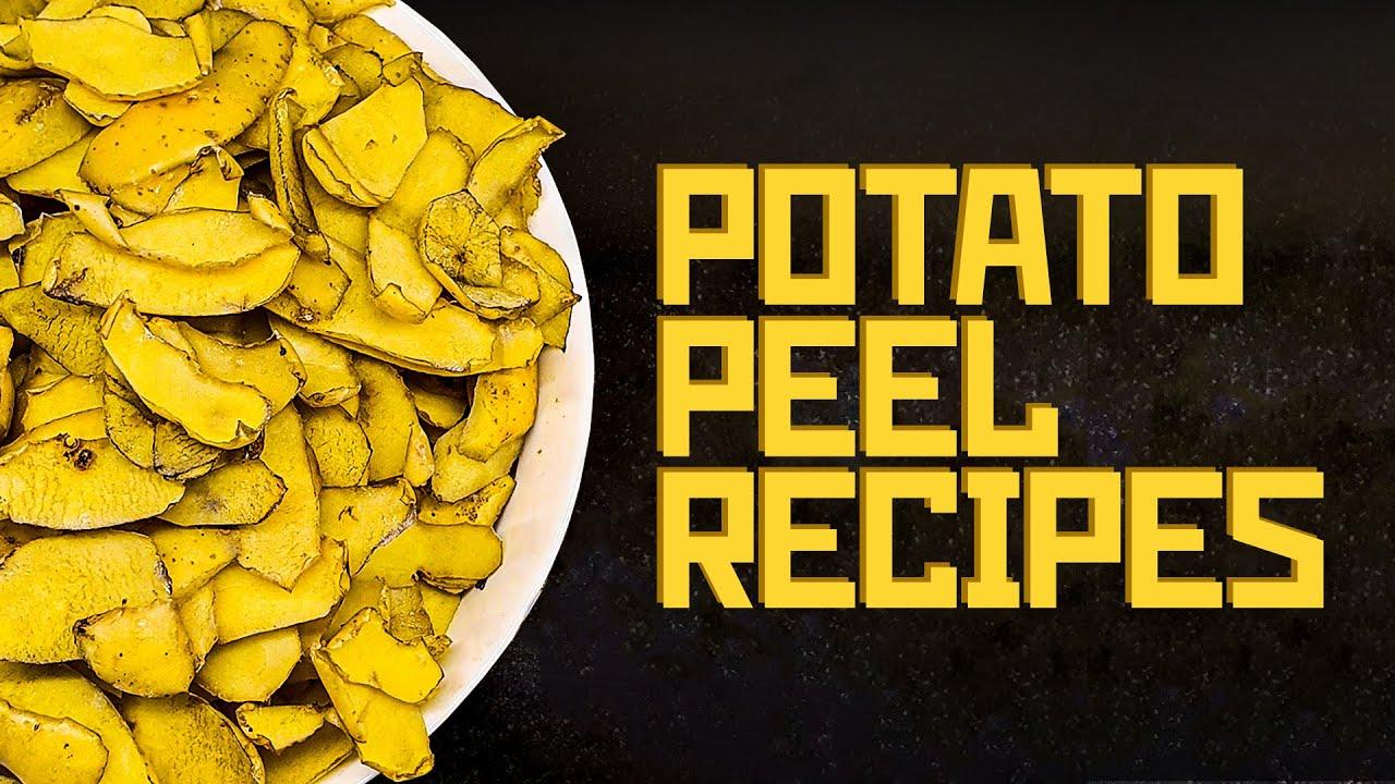 POTATO PEEL RECIPES ?? – budget cooking with Boris