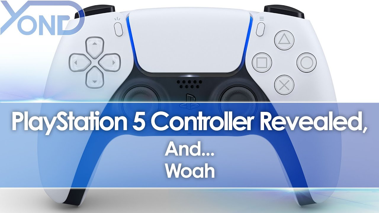 PS5 Controller (DualSense) Revealed, And… Woah