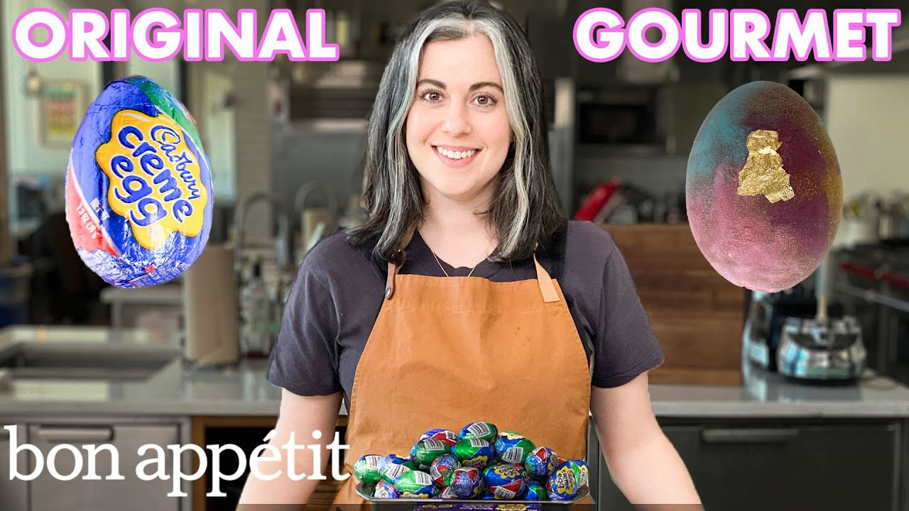 Pastry Chef Attempts to Make Gourmet Cadbury Creme Eggs | Gourmet Makes | Bon Appétit