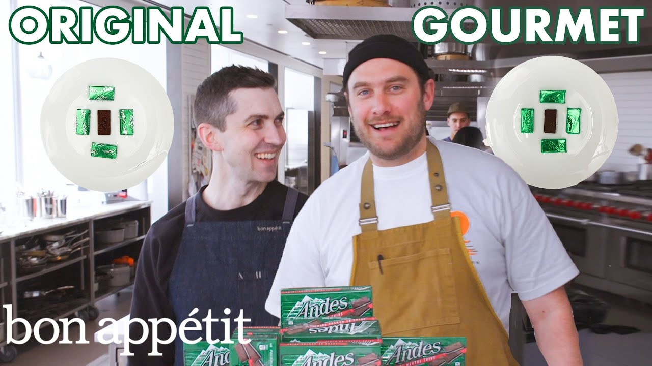 Pastry Chefs Attempt to Make Gourmet Andes Mints | Gourmet Makes | Bon Appétit