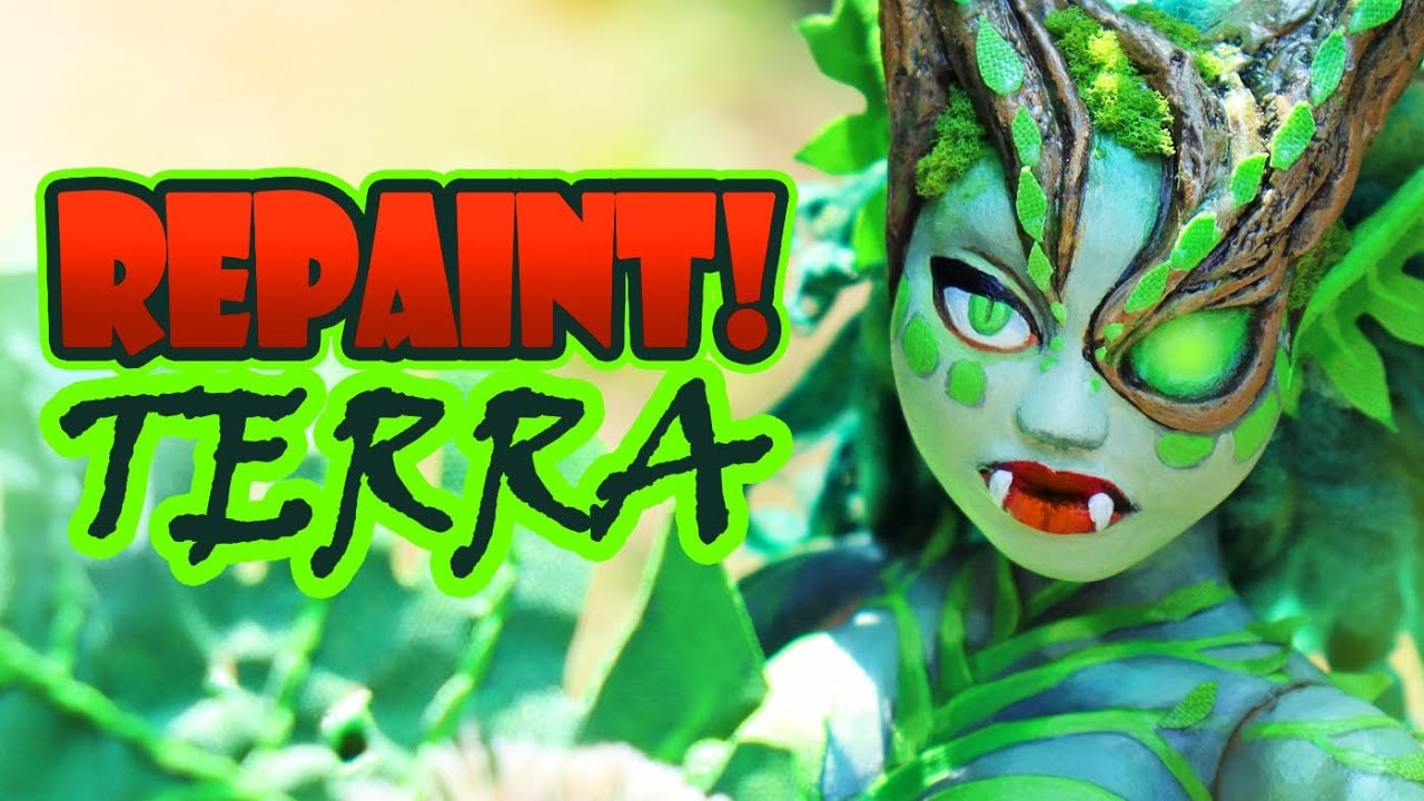 Repaint! Terra the Earth Dragon OOAK Art Doll Custom