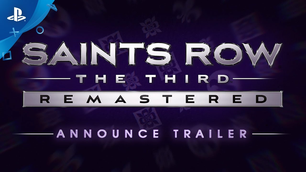 Saints Row The Third Remastered – Announce Trailer | PS4