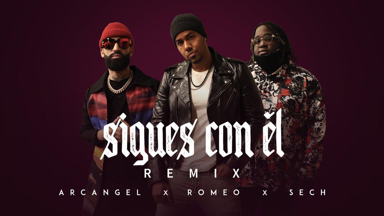 Sigues Con Él Remix – Arcangel X Sech X Romeo Santos ( Video Oficial )