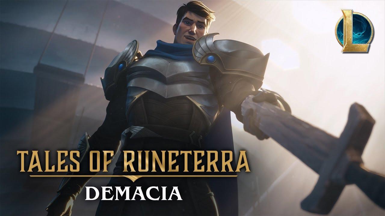 "Tales of Runeterra: Demacia   ""Before Glory"""