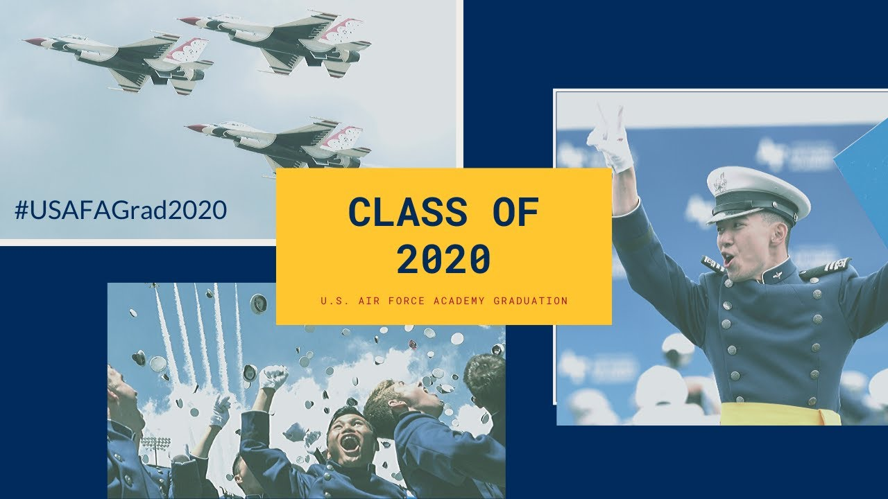 United States Air Force Academy Graduation 2020