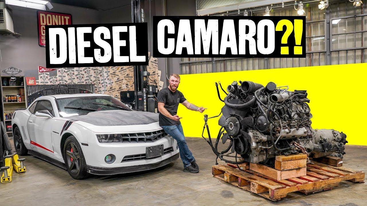 We're Building a Diesel Powered Camaro!? // Knuckle Busters 2 Ep.1