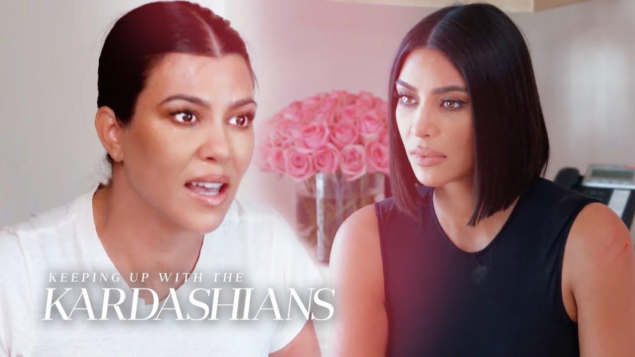 Why Did Kourtney & Kim Kardashian Get Physical? | KUWTK | E!