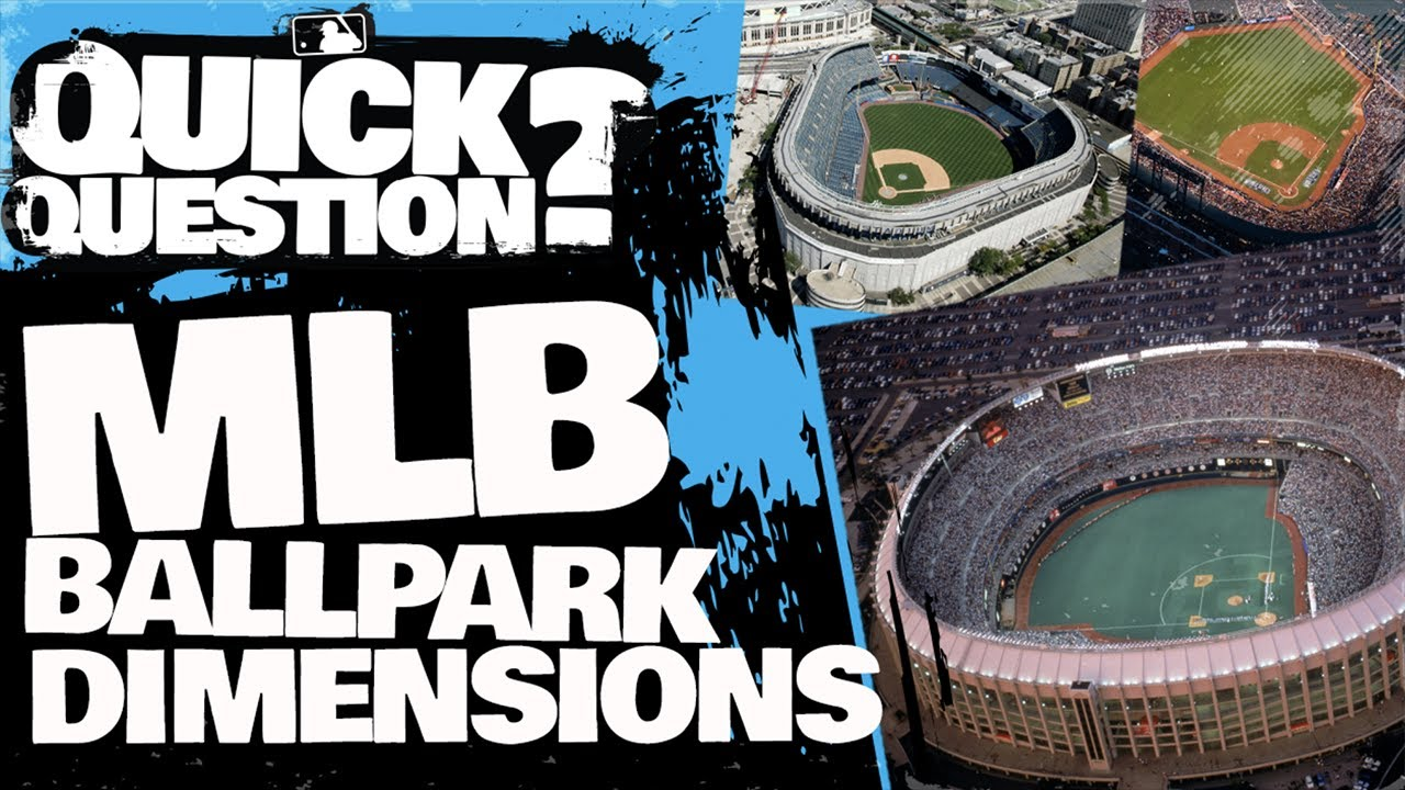 Why do all MLB ballparks have different dimensions? | Quick Question (MLB Originals)