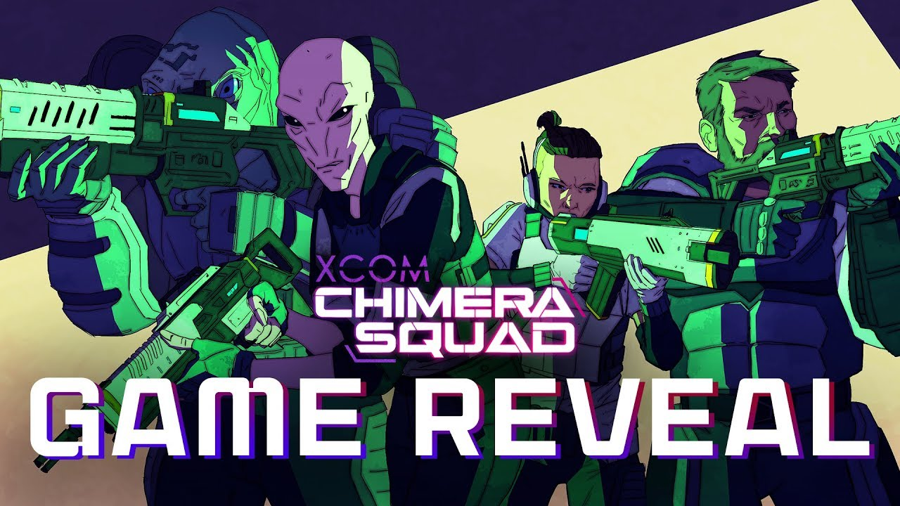 XCOM: Chimera Squad – Game Reveal Trailer