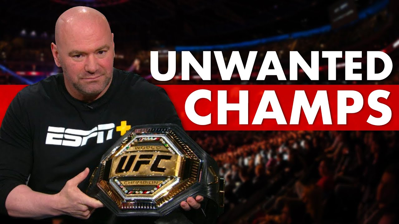 10 Fighters Dana White Never Wanted As Champion