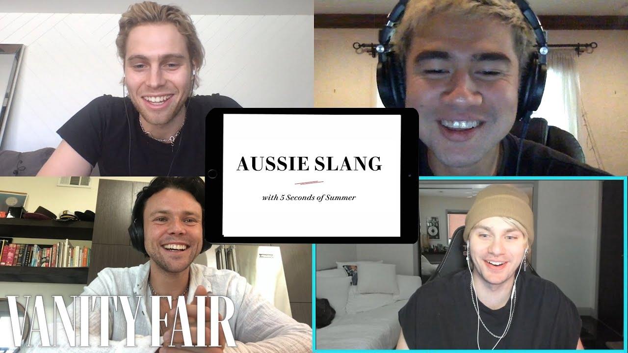 5 Seconds of Summer Teaches You Aussie Slang | Vanity Fair