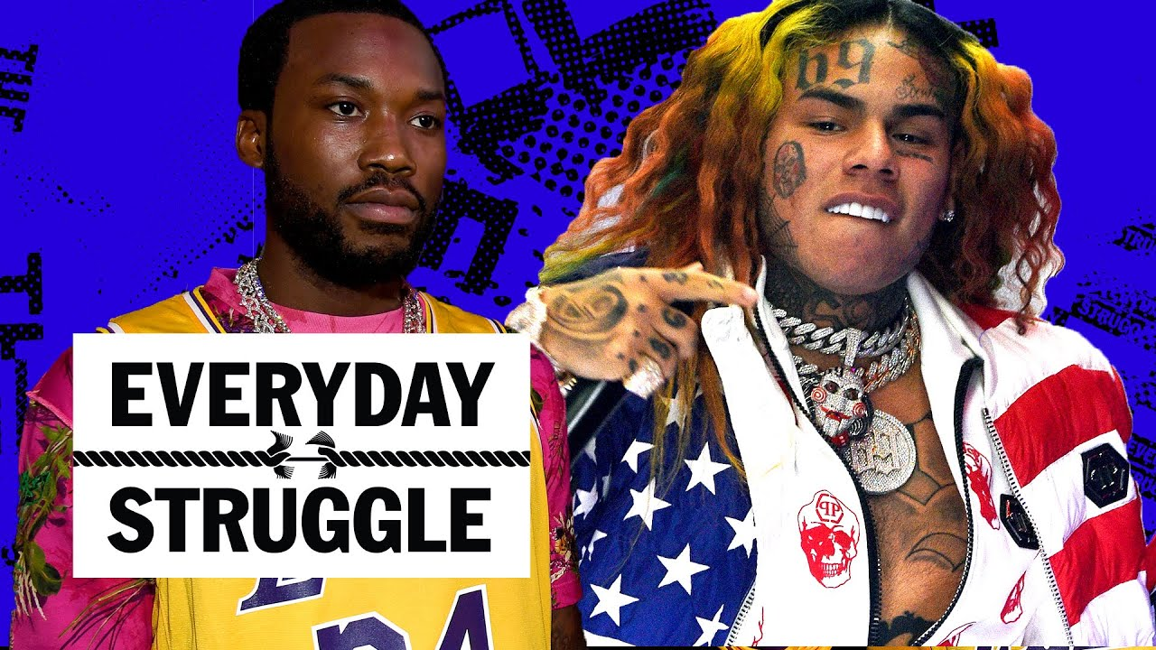 6ix9ine Drops 'Gooba' & Takes Trolling to Record Levels, Meek Mill Not Amused | Everyday Struggle