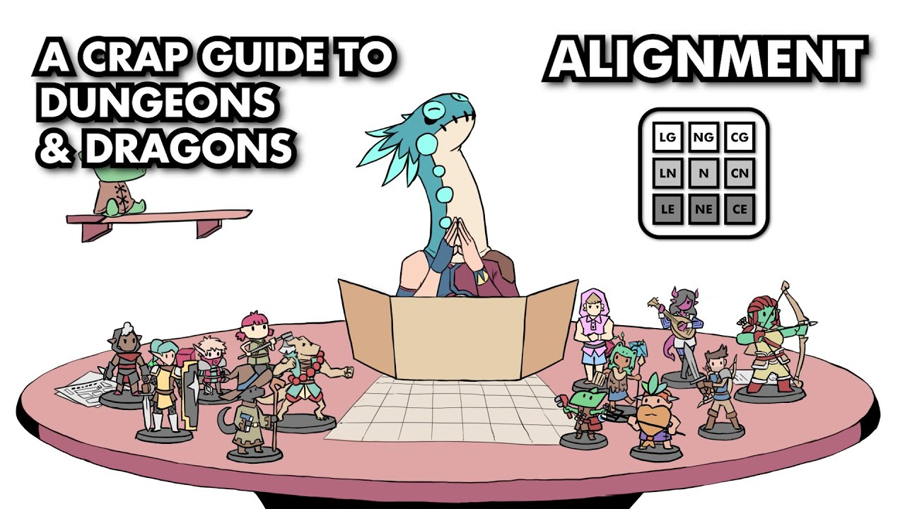A Crap Guide to D&D [5th Edition] – Alignment