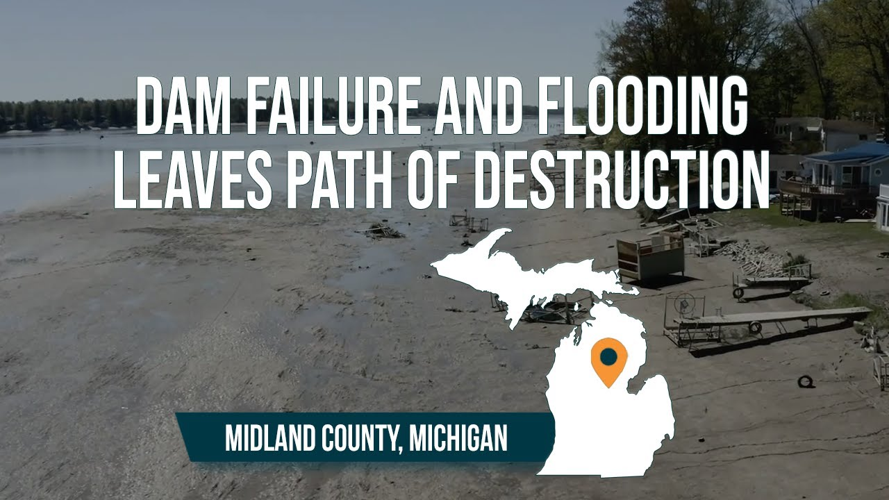 """""""A whole town destroyed"""" Michigan flooding and dam failures leaves path of destruction"""
