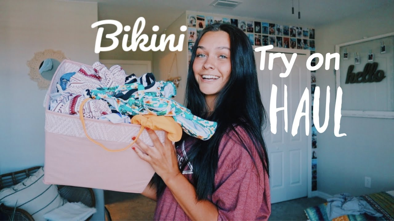 Affordable + cute bikinis  (try on haul)