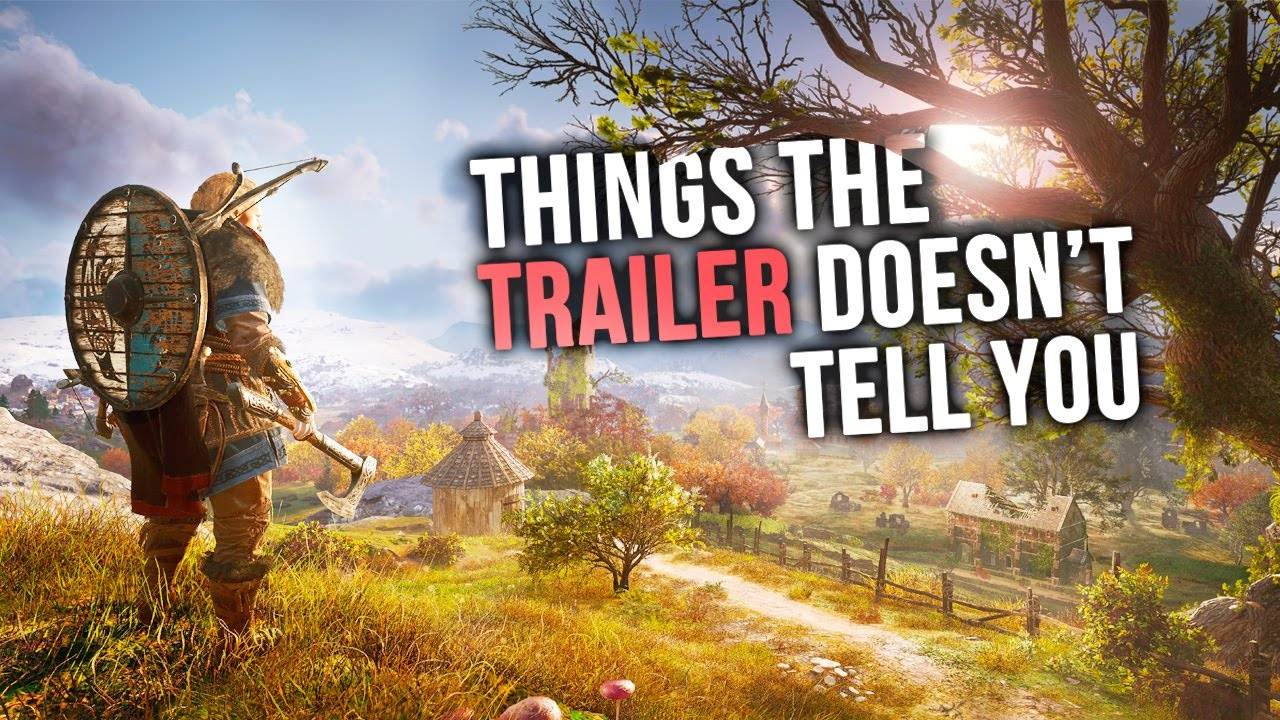 Assassin's Creed Valhalla – Things the Trailer DOESN'T Tell You