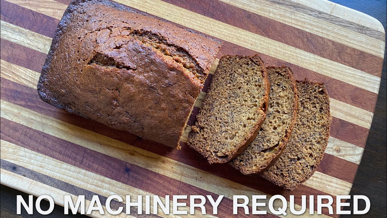 Banana Bread – You Suck at Cooking (episode 110)