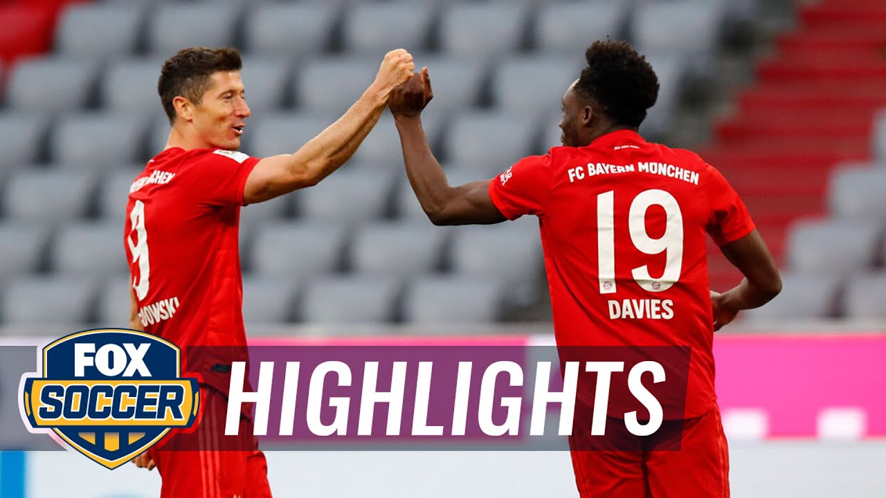 Bayern crushes Fortuna Düsseldorf, inches closer to 8th straight title | 2020 Bundesliga Highlights