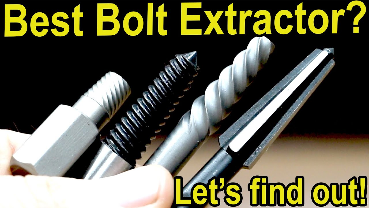 Best Bolt Extractor? Let's find out!  Drill Hog, Bosch, Irwin, Speed out, Ryobi Broken Screw Sets
