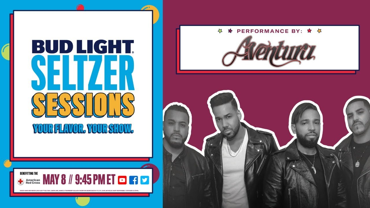 Bud Light Seltzer Sessions con Aventura