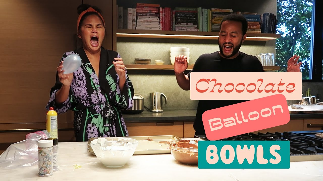 Chocolate Balloon Bowls vs. Chrissy Teigen