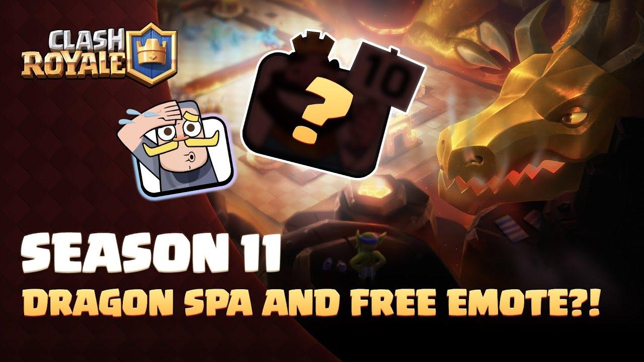Clash Royale Season 11 – Here Be Dragons (Unlock a Free Emote!)