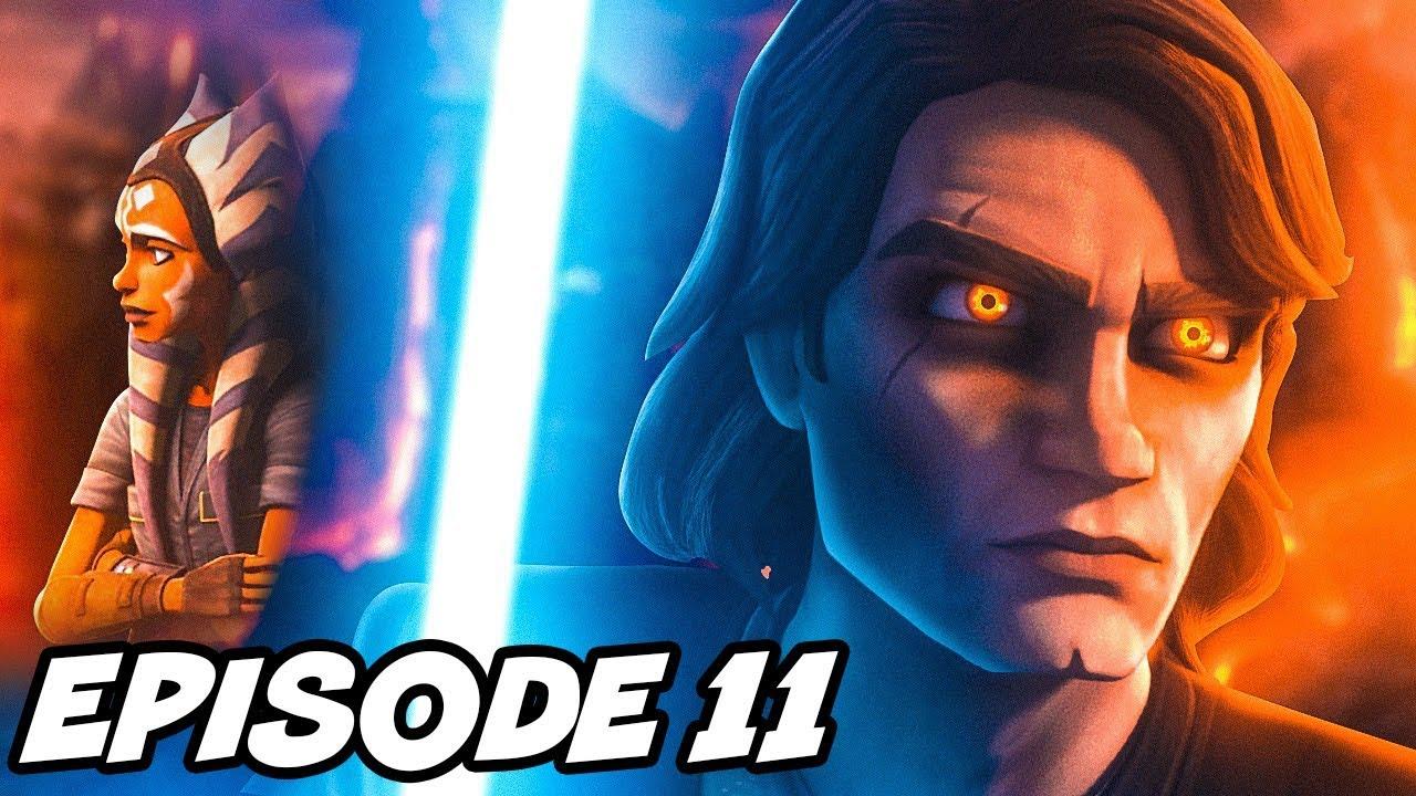 Clone Wars Episode 11 ORDER 66 Full Breakdown and All Easter Eggs
