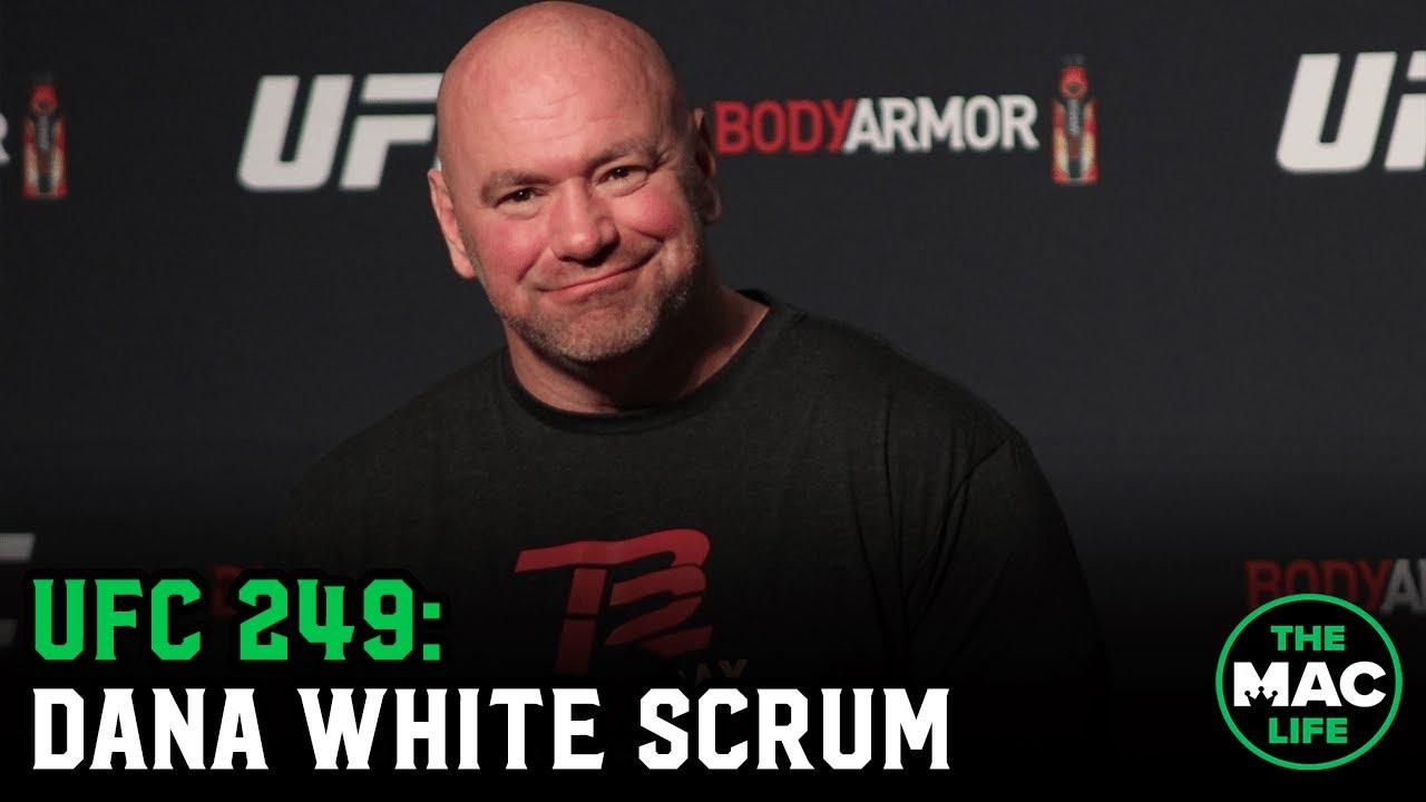 Dana White talks UFC 249, Conor McGregor vs. Oscar De La Hoya, and Stipe Miocic