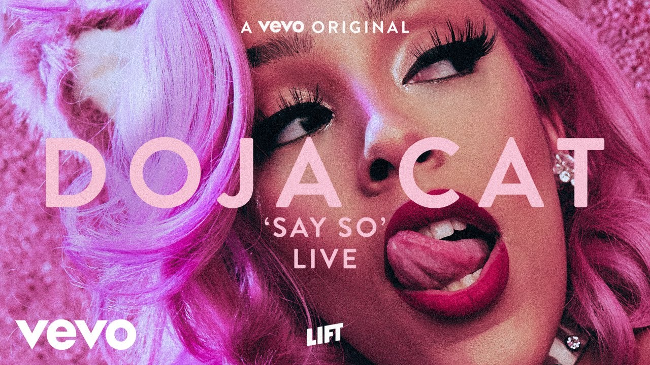 Doja Cat – Say So (Live Performance) | Vevo LIFT