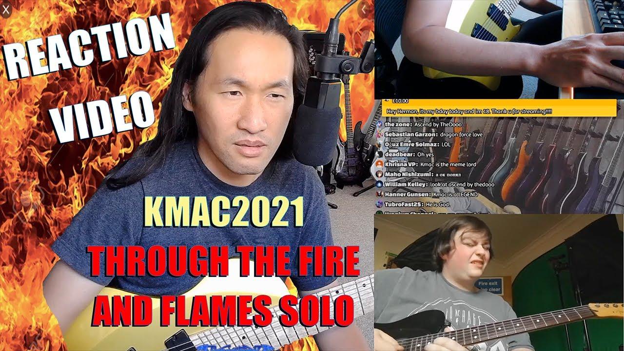 DragonForce Reaction – Herman Li Trolled by Kmac2021 Guitar Solo Cover