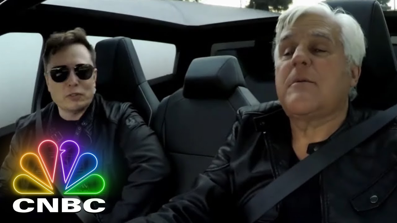 Elon Musk And Jay Leno Hop In The 2021 Tesla Cybertruck | Jay Leno's Garage