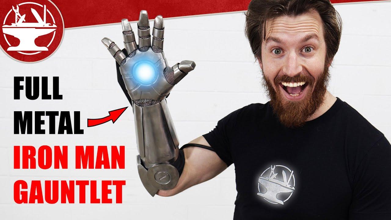 Full Metal IRON MAN GLOVE!