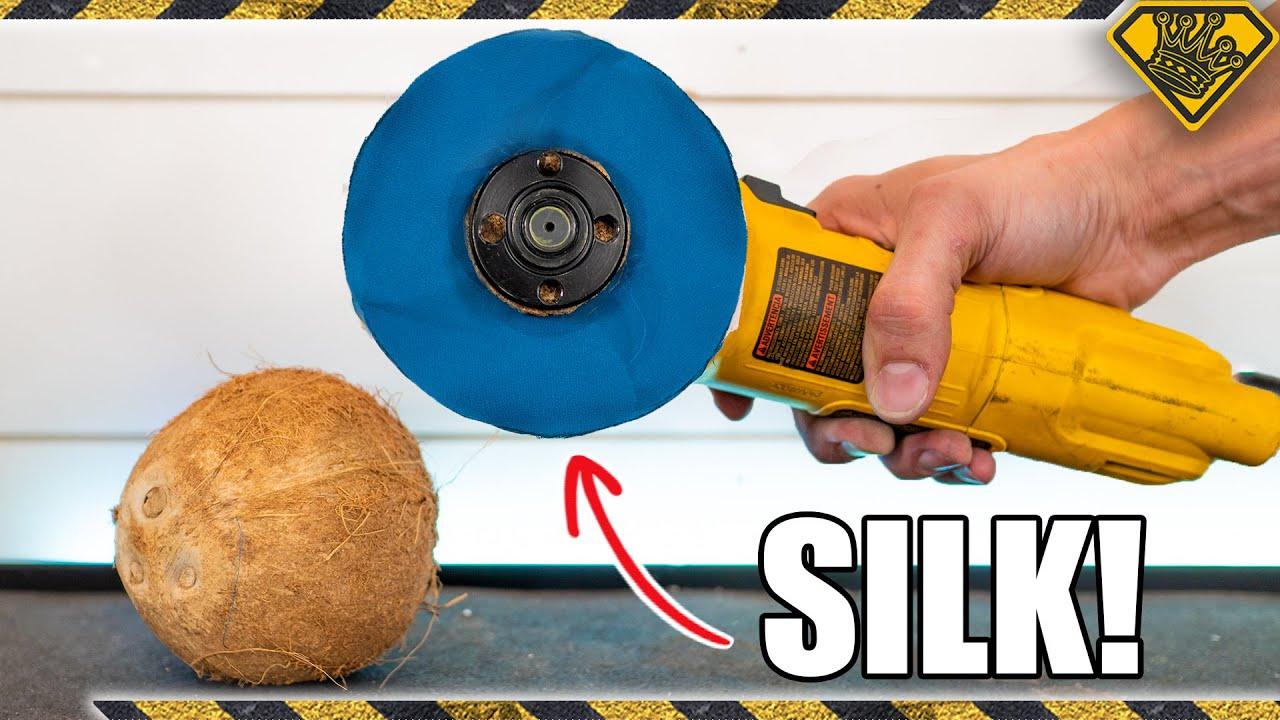 How Silk Can Cut Through A Coconut