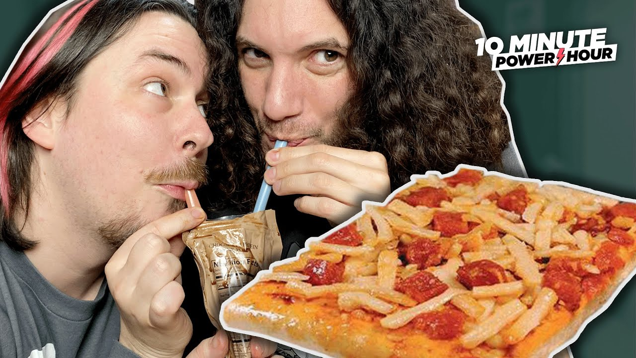Instant PIZZA… The BEST MRE Taste Test – 10 Minute Power Hour