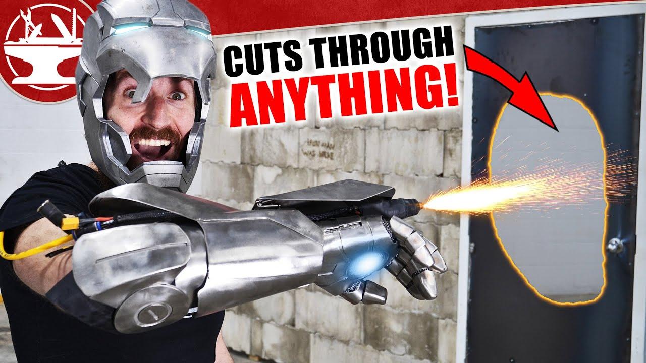 Iron Man Plasma Glove CUTS THROUGH ANYTHING! (+ GIVEAWAY)