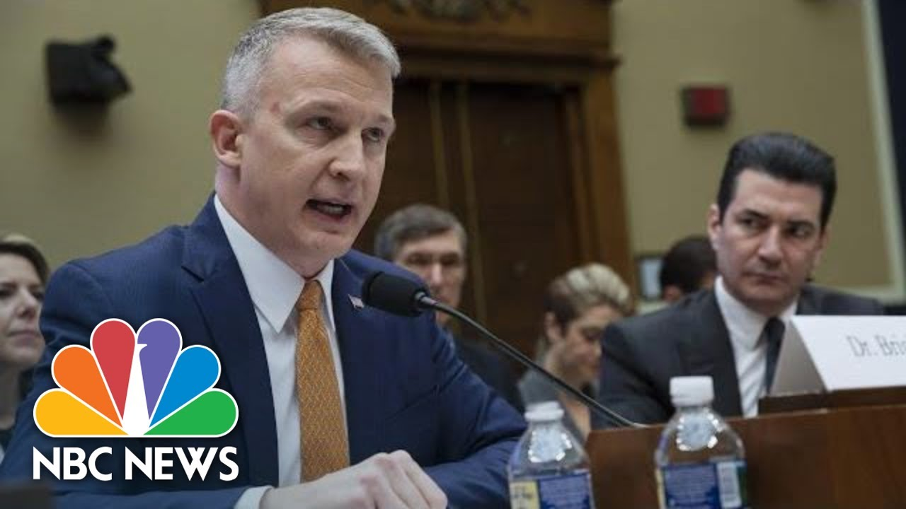 Live: Dr. Bright Testifies at House Hearing on Coronavirus Response | NBC News