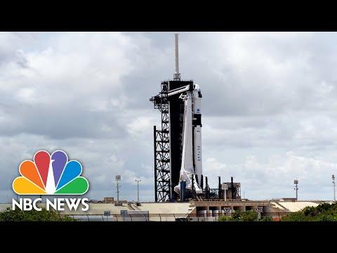 Live: SpaceX, NASA Launch U.S. Astronauts To International Space Station | NBC News
