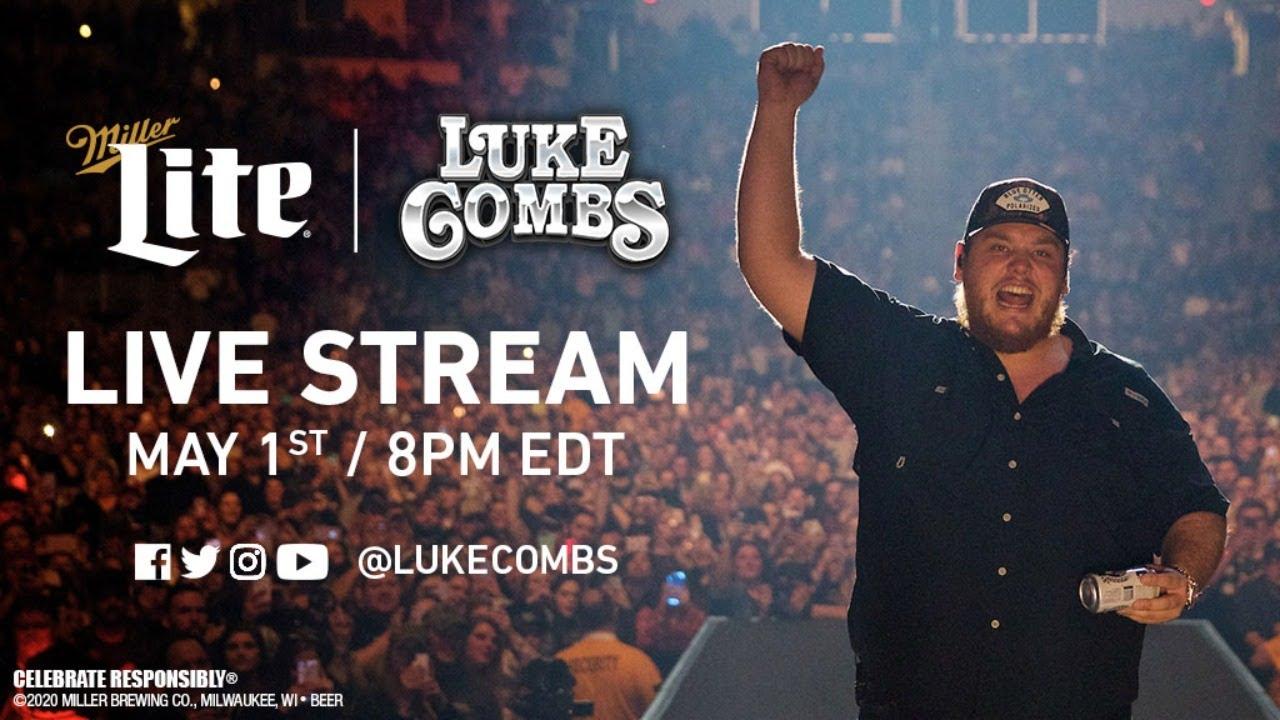 Luke Combs x Miller Lite Live Stream