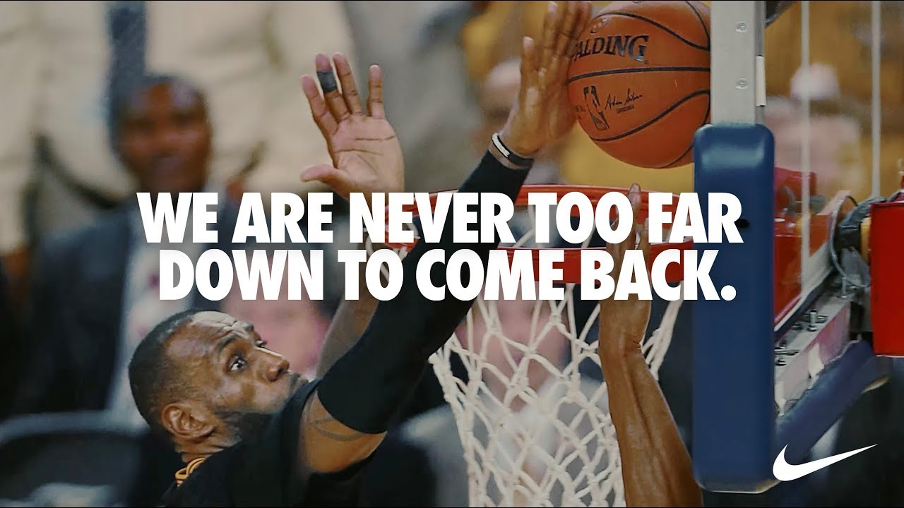 Never Too Far Down | You Can't Stop Us | Nike