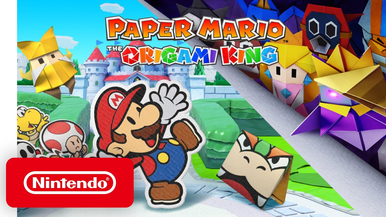 Paper Mario: The Origami King – Announcement Trailer – Nintendo Switch
