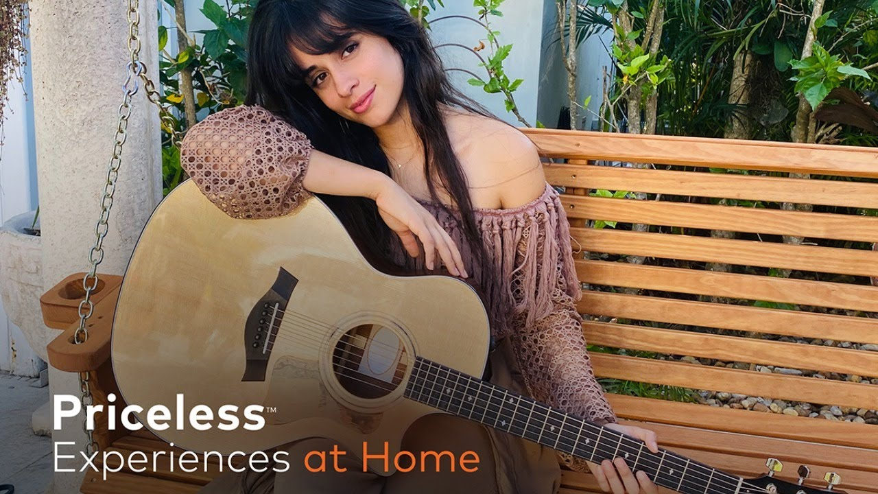 Priceless Experiences at Home | Camila Cabello